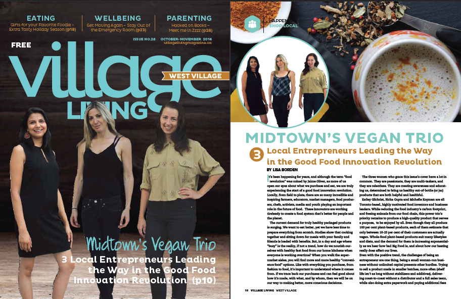 Midtown's Vegan Trio Village Living Magazine