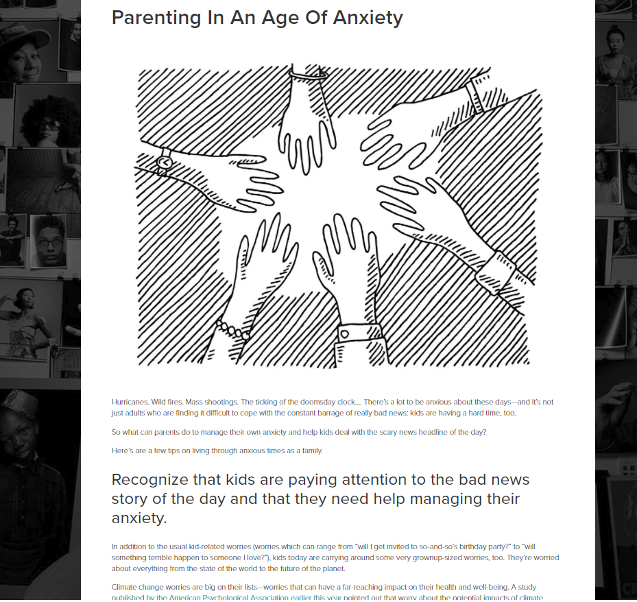 Parenting In An Age Of Anxiety, Ann Douglas