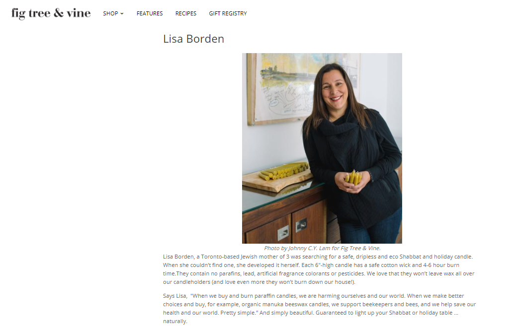 Lisa Borden, Fig Tree & Vine