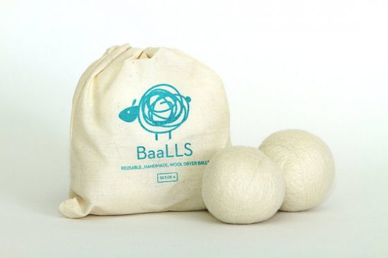 baalls certified organic dryer balls by borden communications