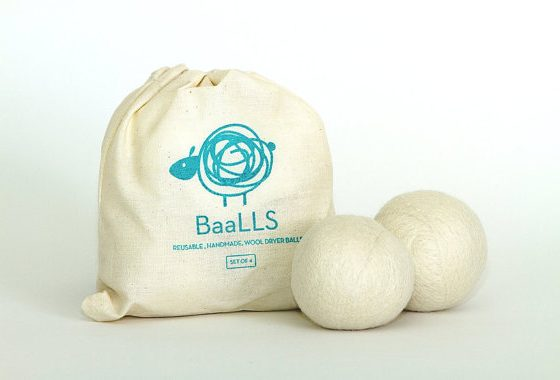baalls certified organic dryer balls by borden communications