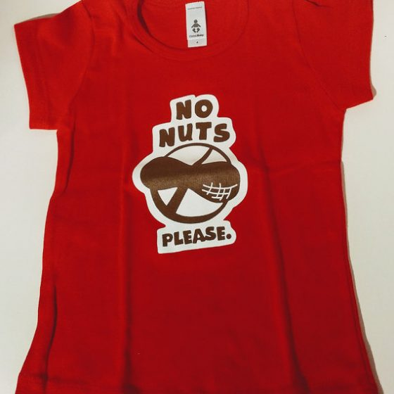No Nuts Please Kids Allergy T-Shirt