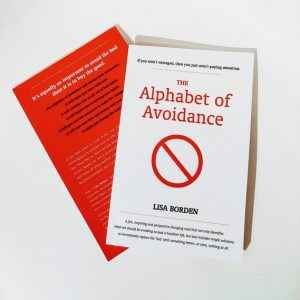 the alphabet of avoidance by lisa borden