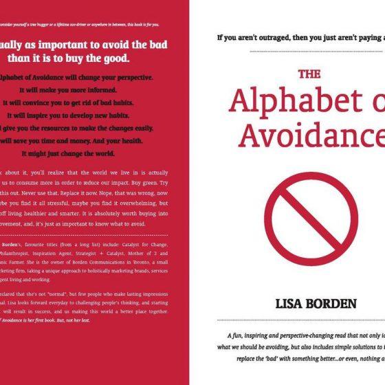 the alphabet of avoidance