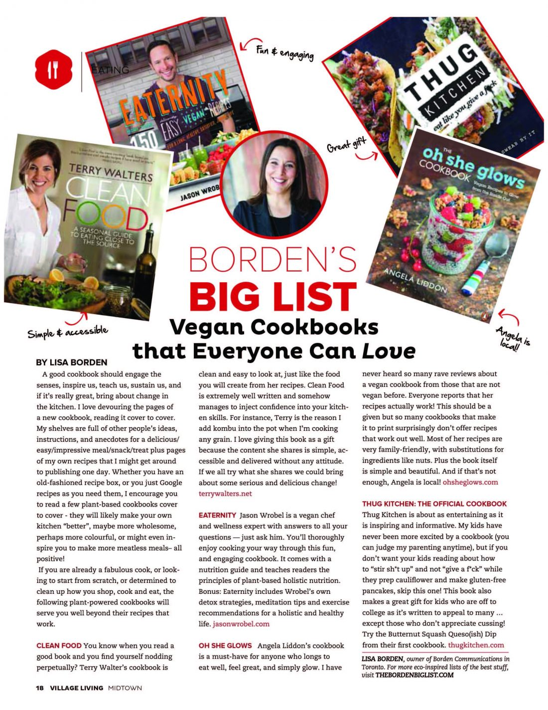 Vegan Cookbooks That Everyone Can Love, Village Living Magazine