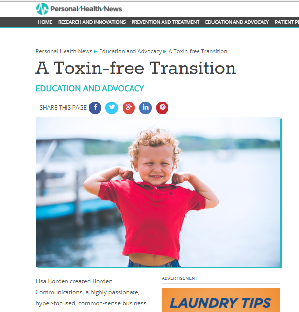 A Toxin-free Transition